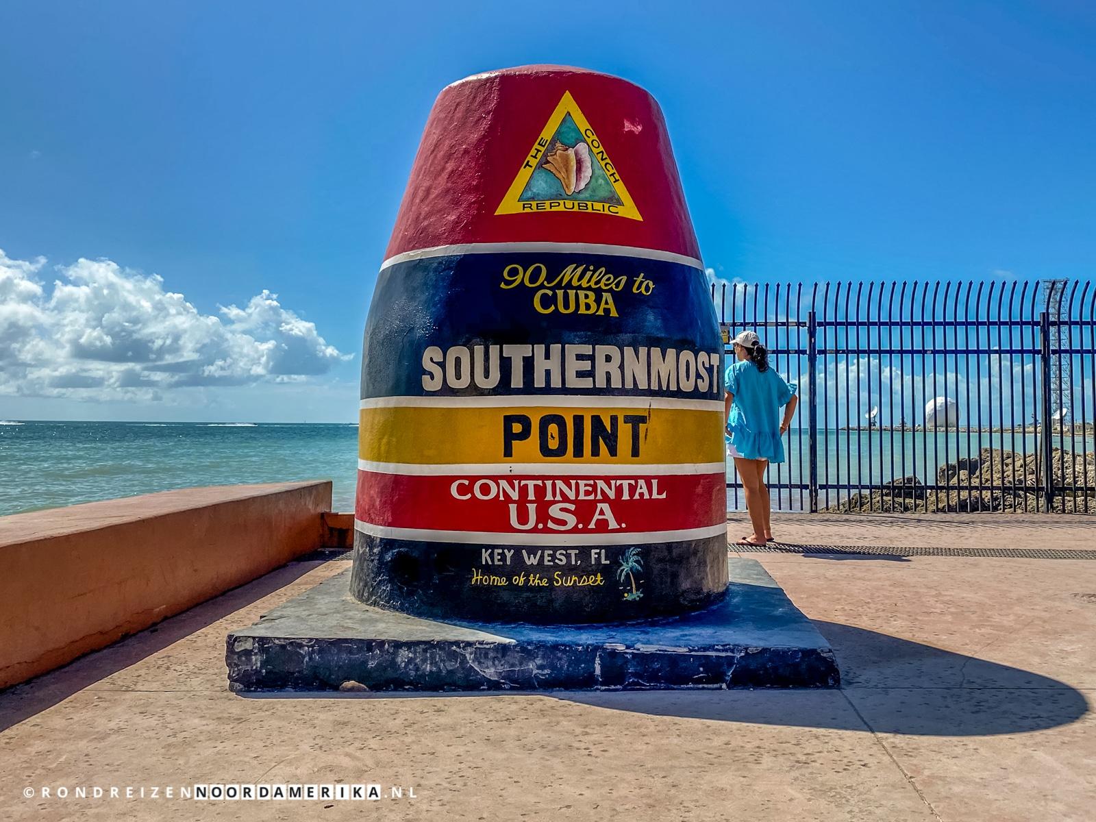 Southernmost Point – Het zuidelijkste plekje van de Verenigde Staten