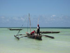 Zanzibar fishing boat
