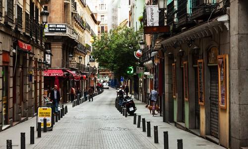 shoppen Madrid