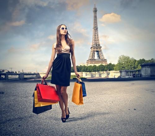 shoppen Parijs