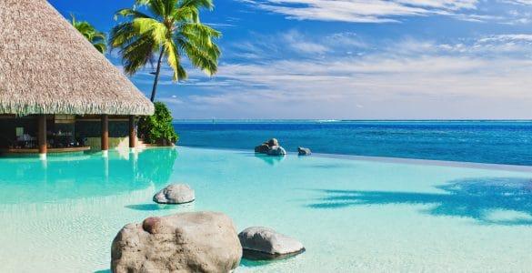 Zwembad Infinity pool