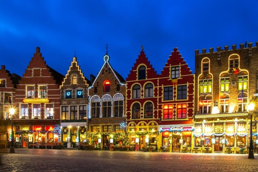 Brugge met Kerst