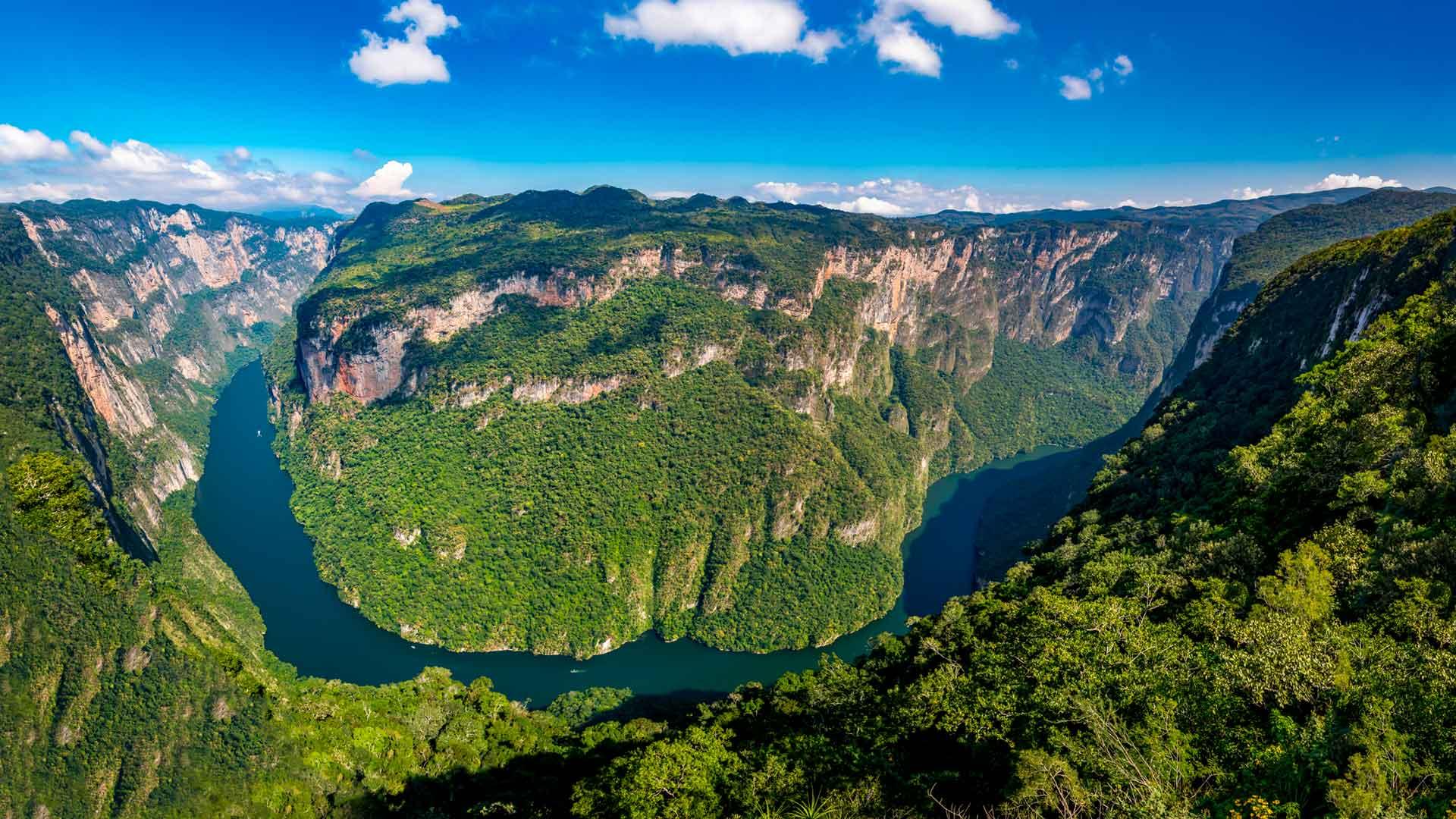Canon del Sumidero Nationaal Park