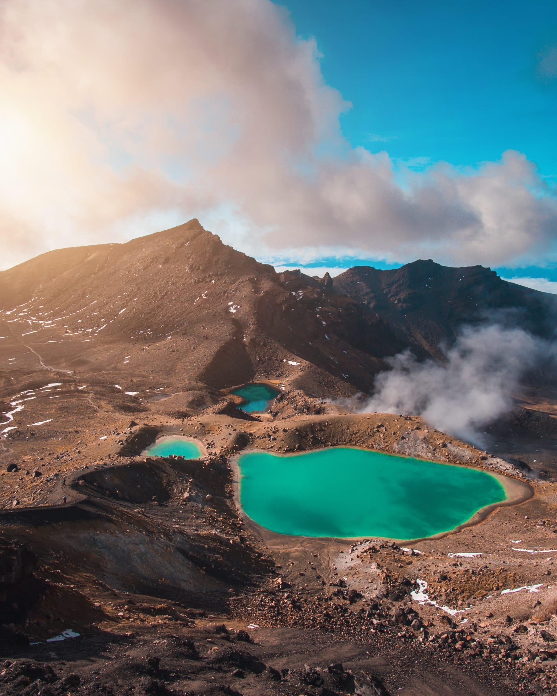 Tongariro Nationaal Park, Nieuw-Zeeland