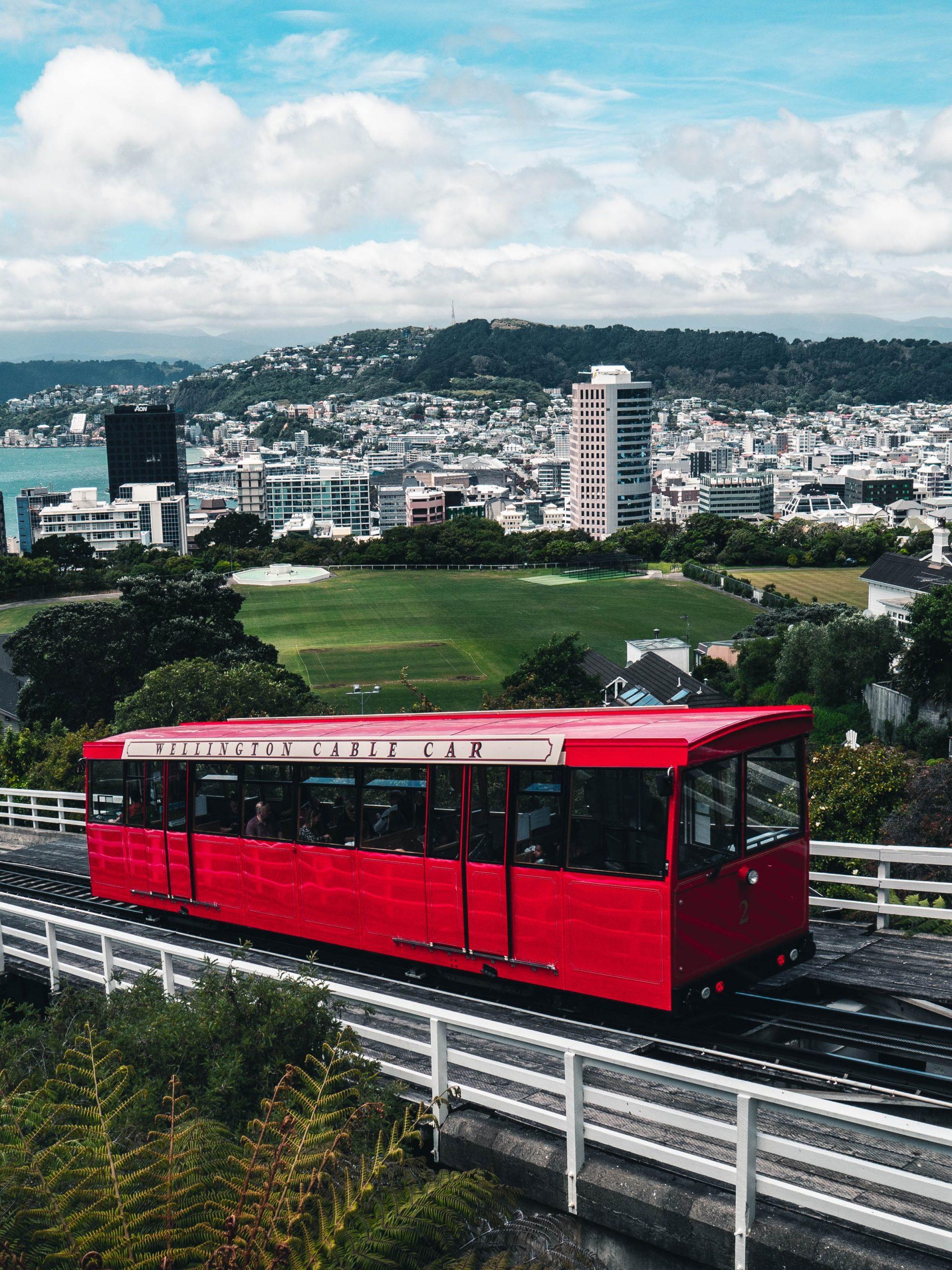 Cable Car, Wellington, Nieuw-Zeeland