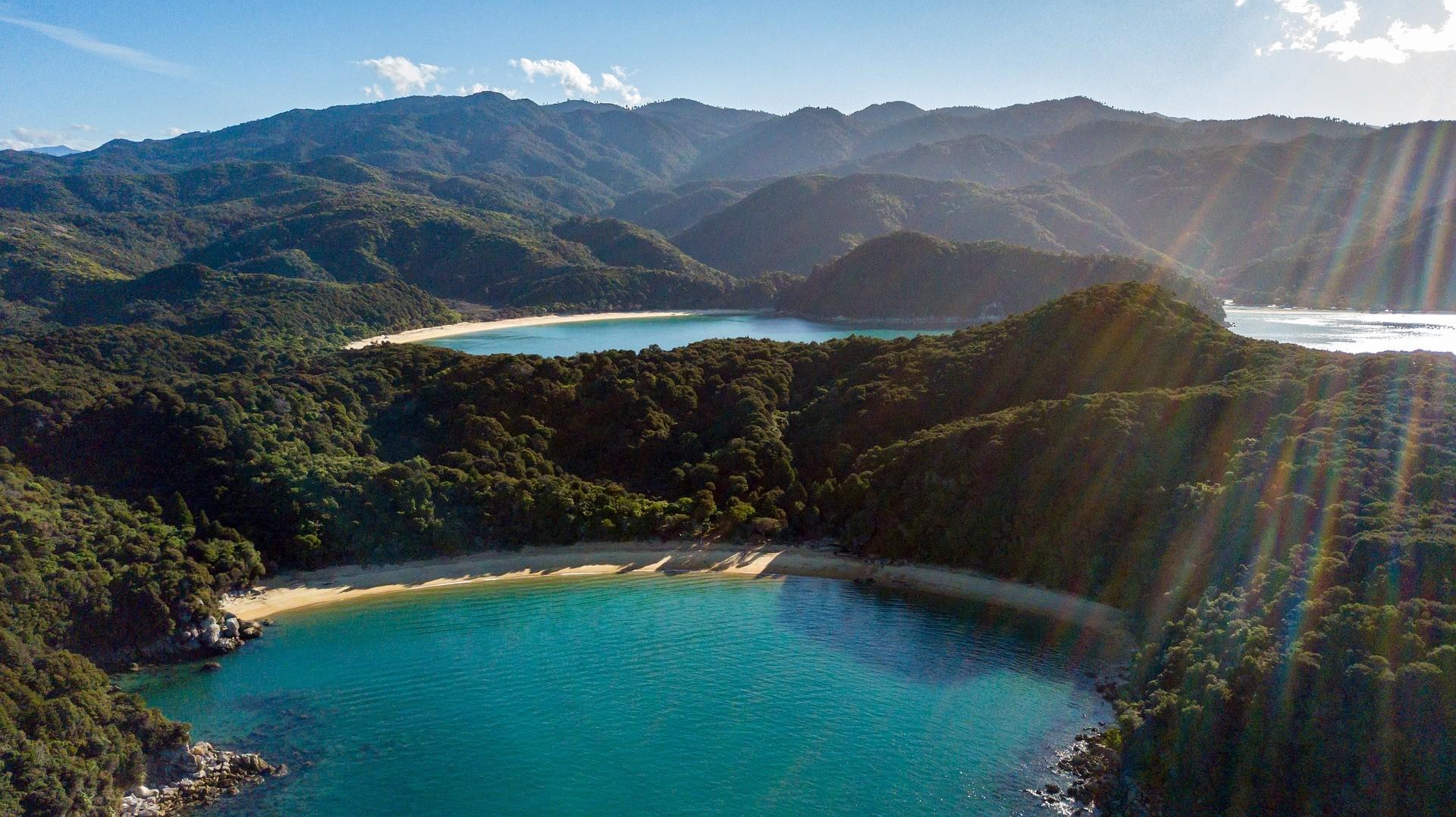 Abel Tasman Nationaal Park, Nieuw-Zeeland