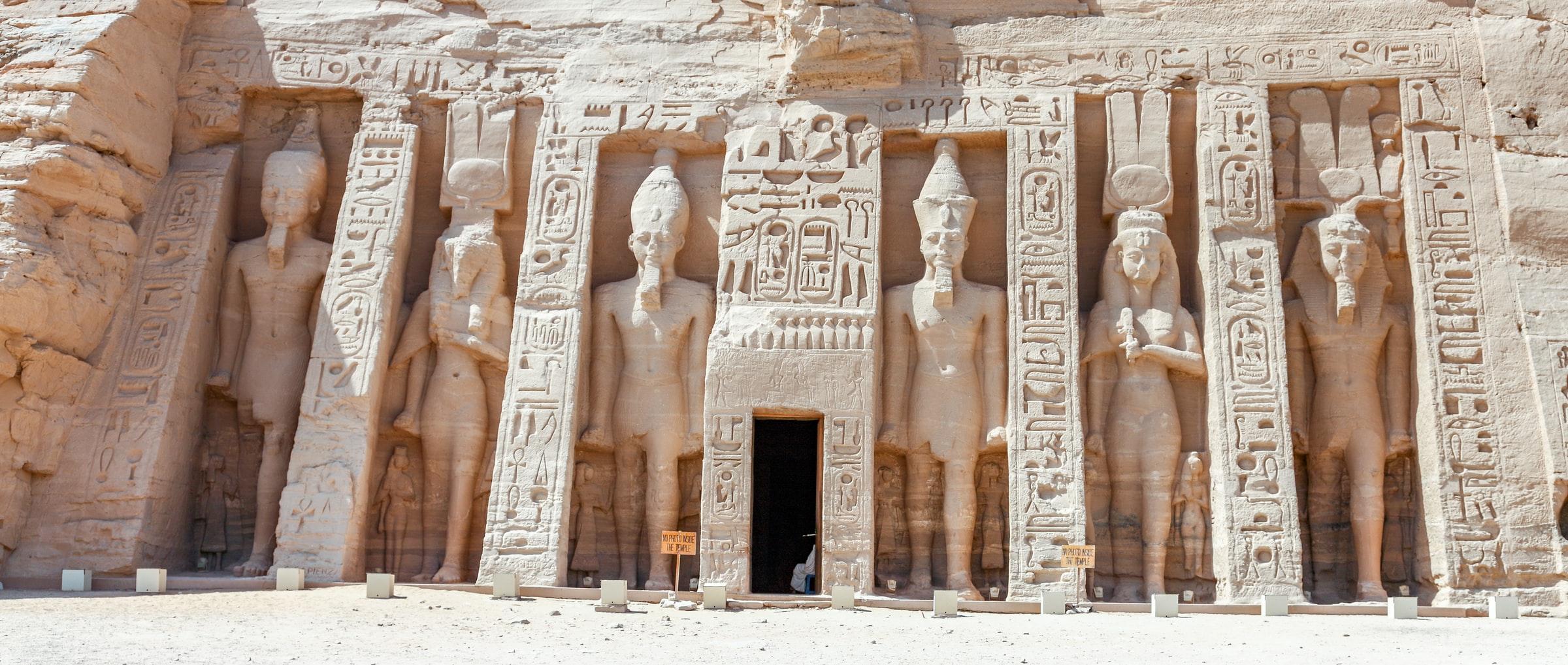Abu Simbel, must sees Egypte