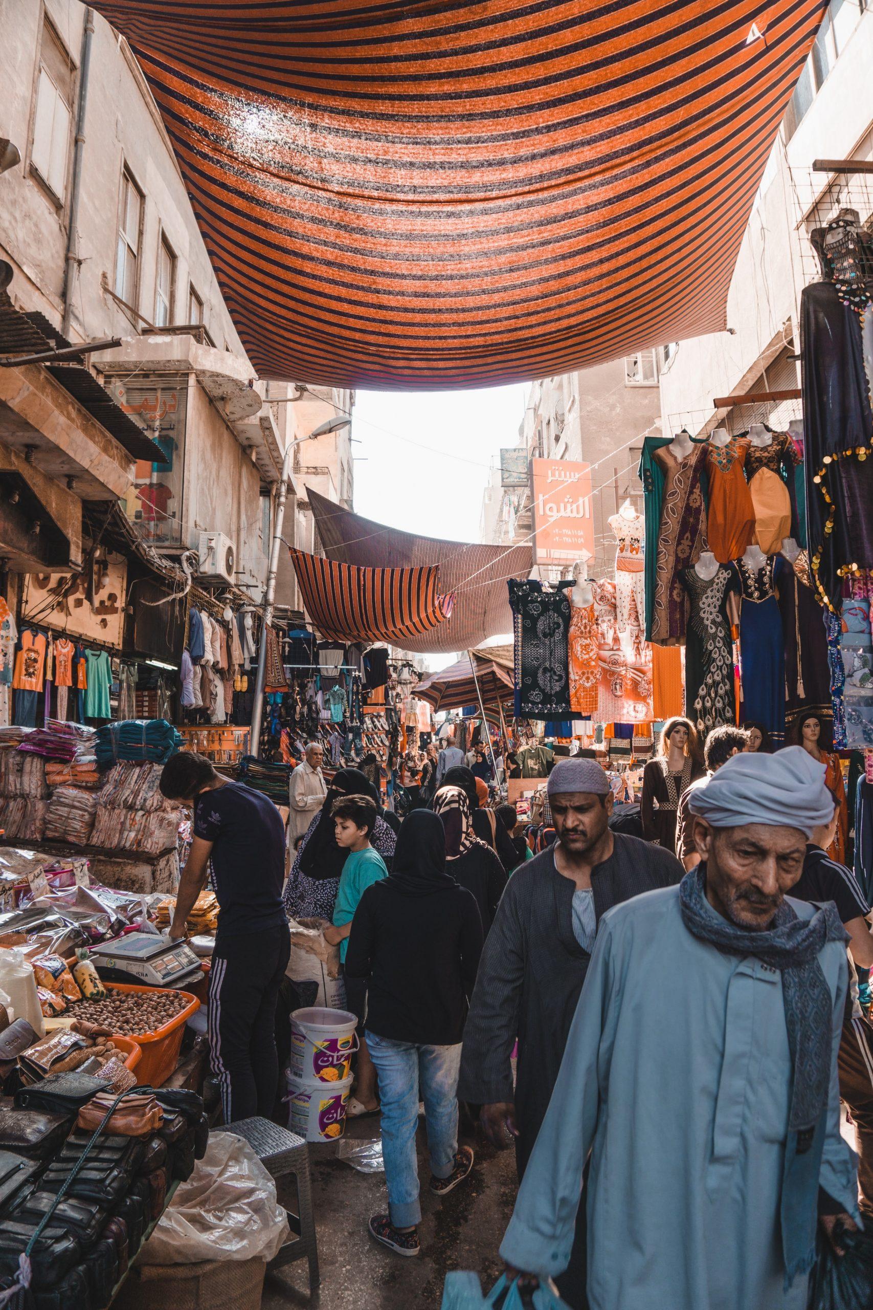 Bazaar van Khan El-Khalili, must sees Egypte