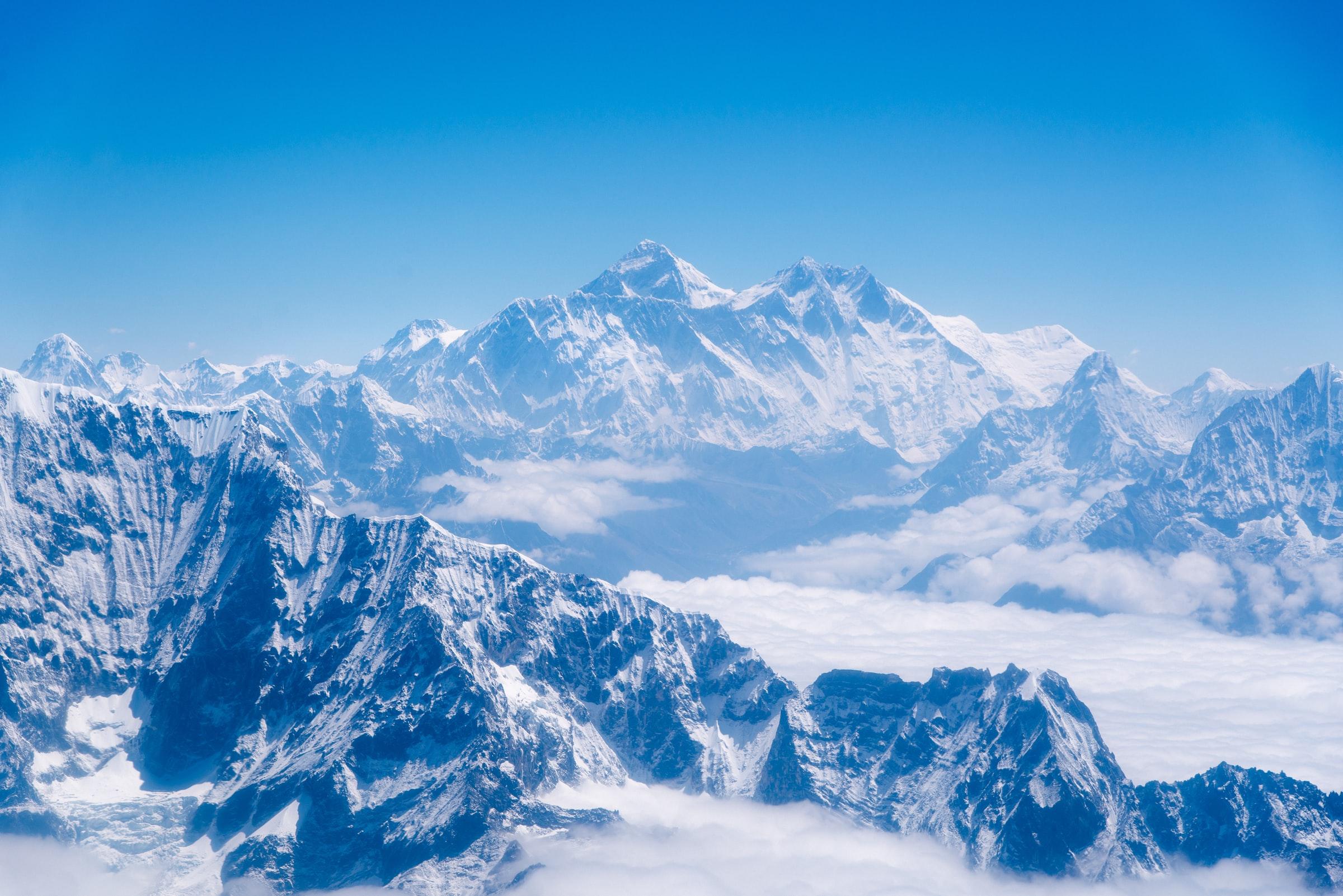 Mount Everest - Het dak van de wereld