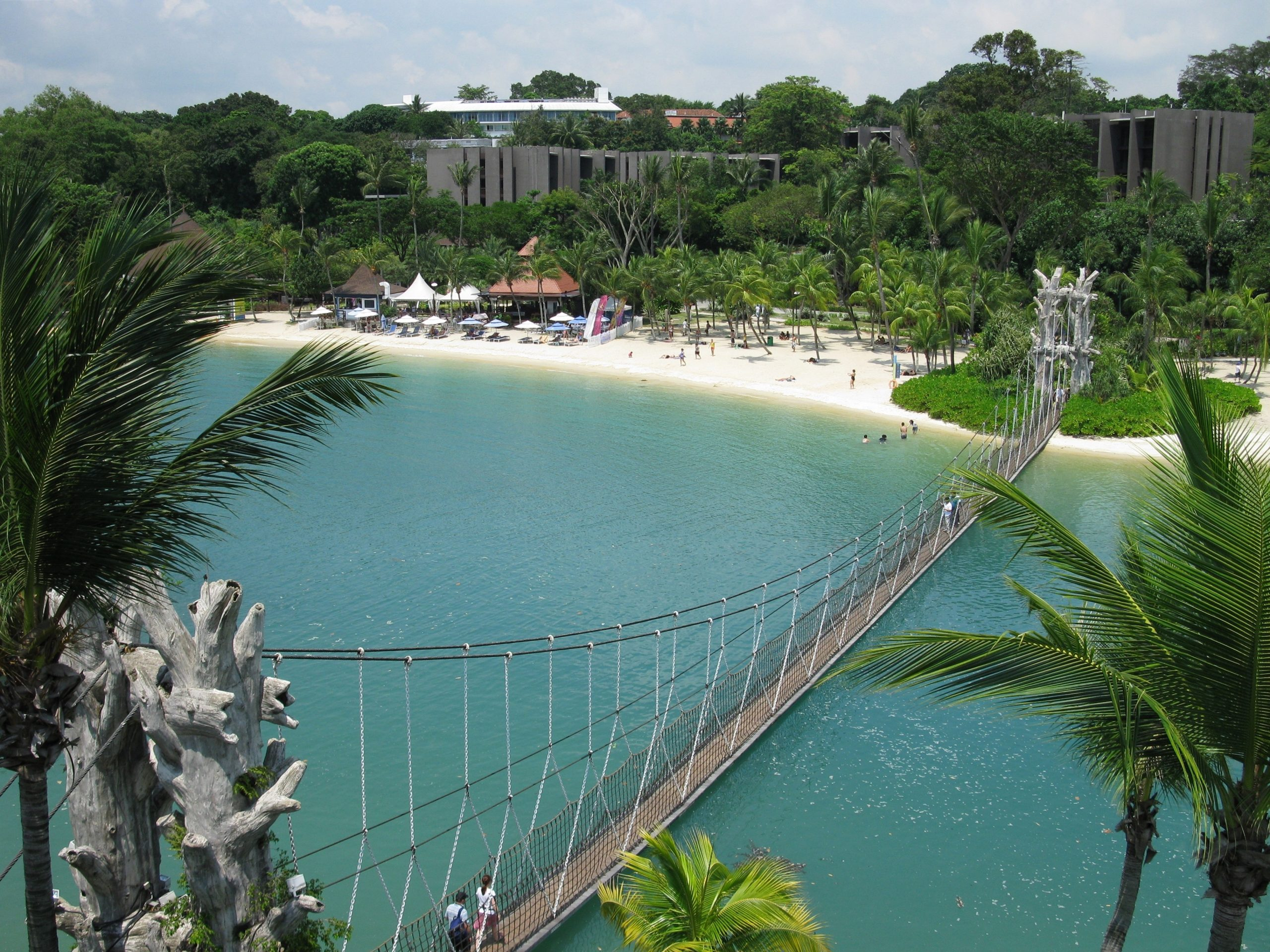 Sentosa Island - de #5 van must sees in Singapore