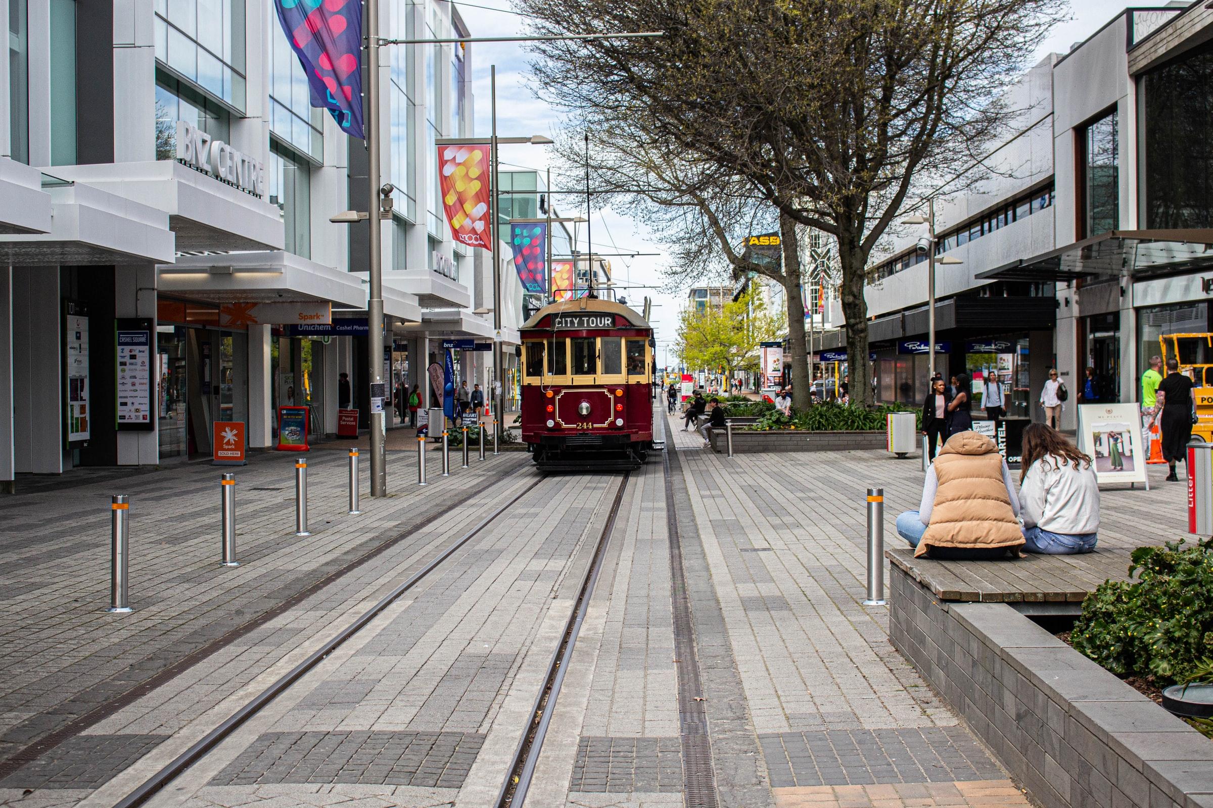 Cable Car, Christchurch, Nieuw-Zeeland