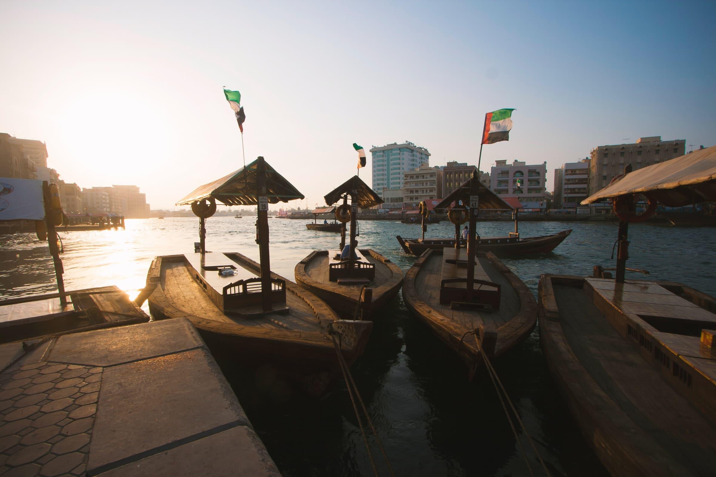 Goedkoop maar erg leuk - een low-budget tochtje op Dubai Creek