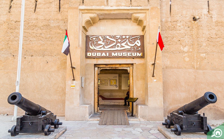 Bezoek gratis het Dubai Museum