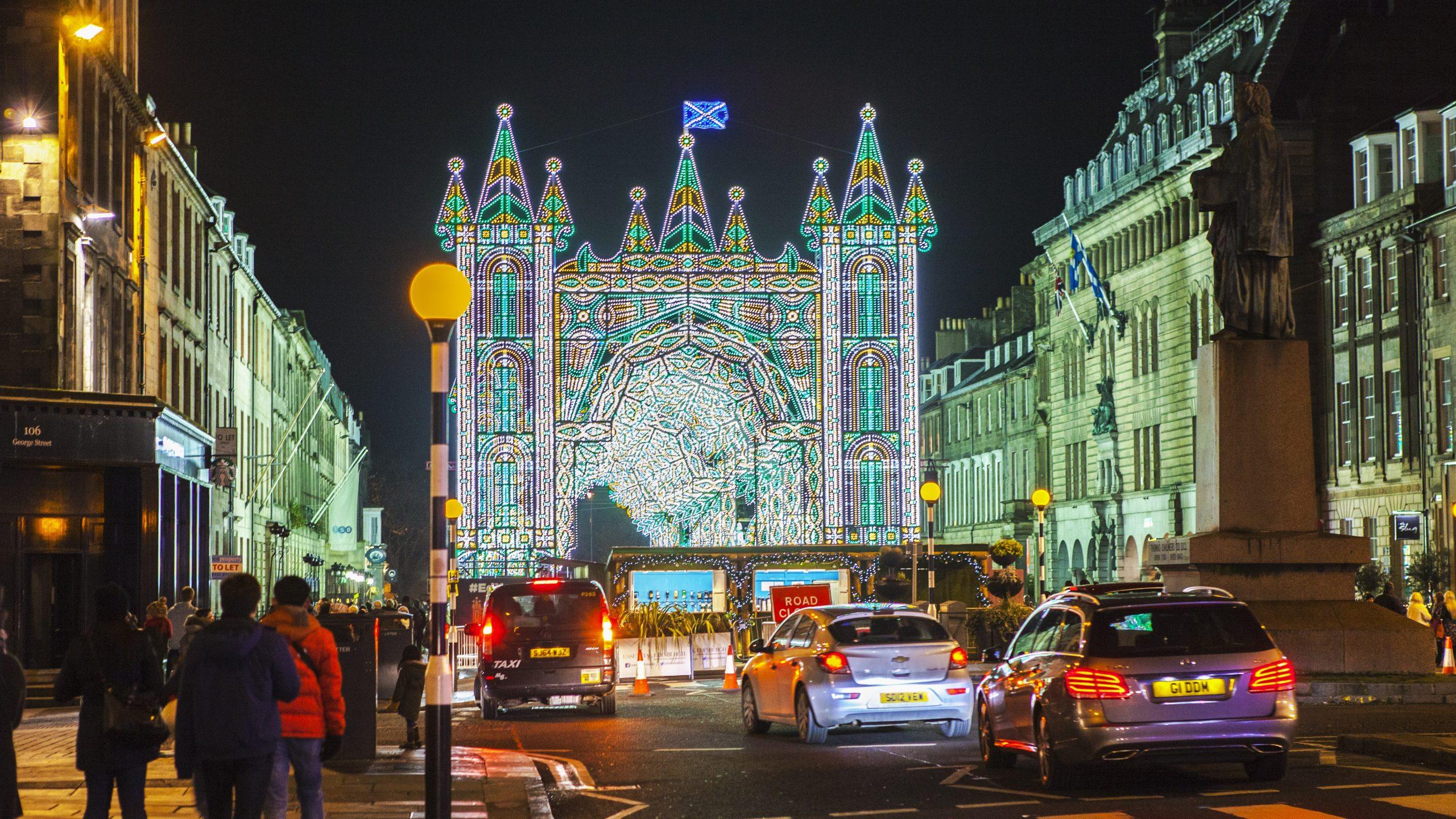 Kerst shoppen in Edinburgh