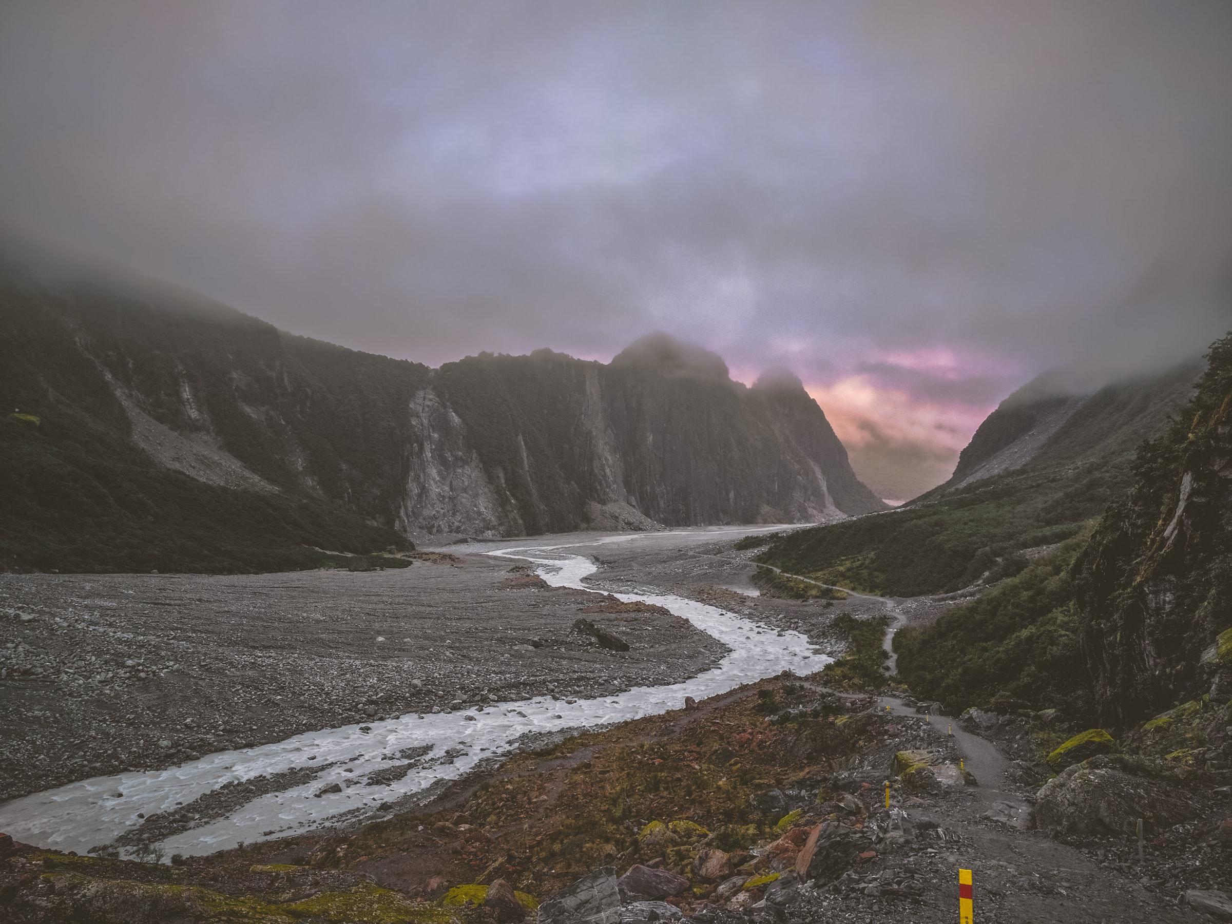 Fox Glacier, Westland Tai Poutini Nationaal Park
