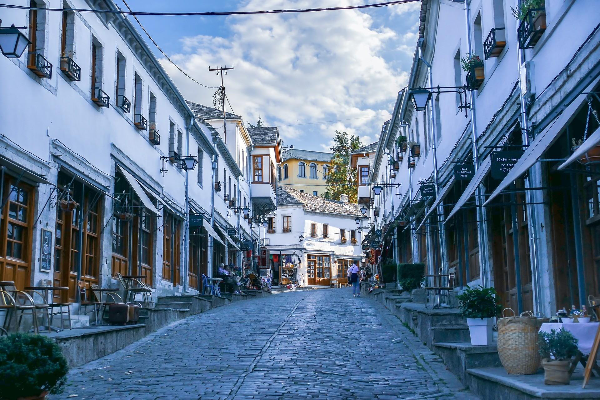 Gjirokaster, Albanië