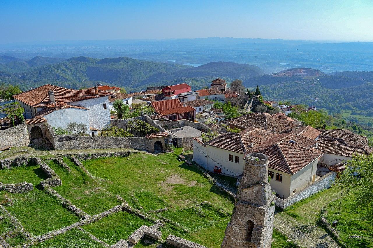 Kruje, een must see in Albanië