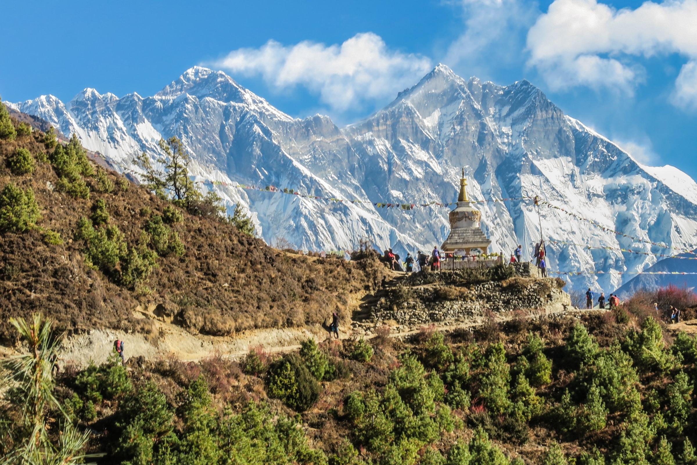 Het Dak van de Wereld - De machtige Himalaya in Nepal en Tibet.