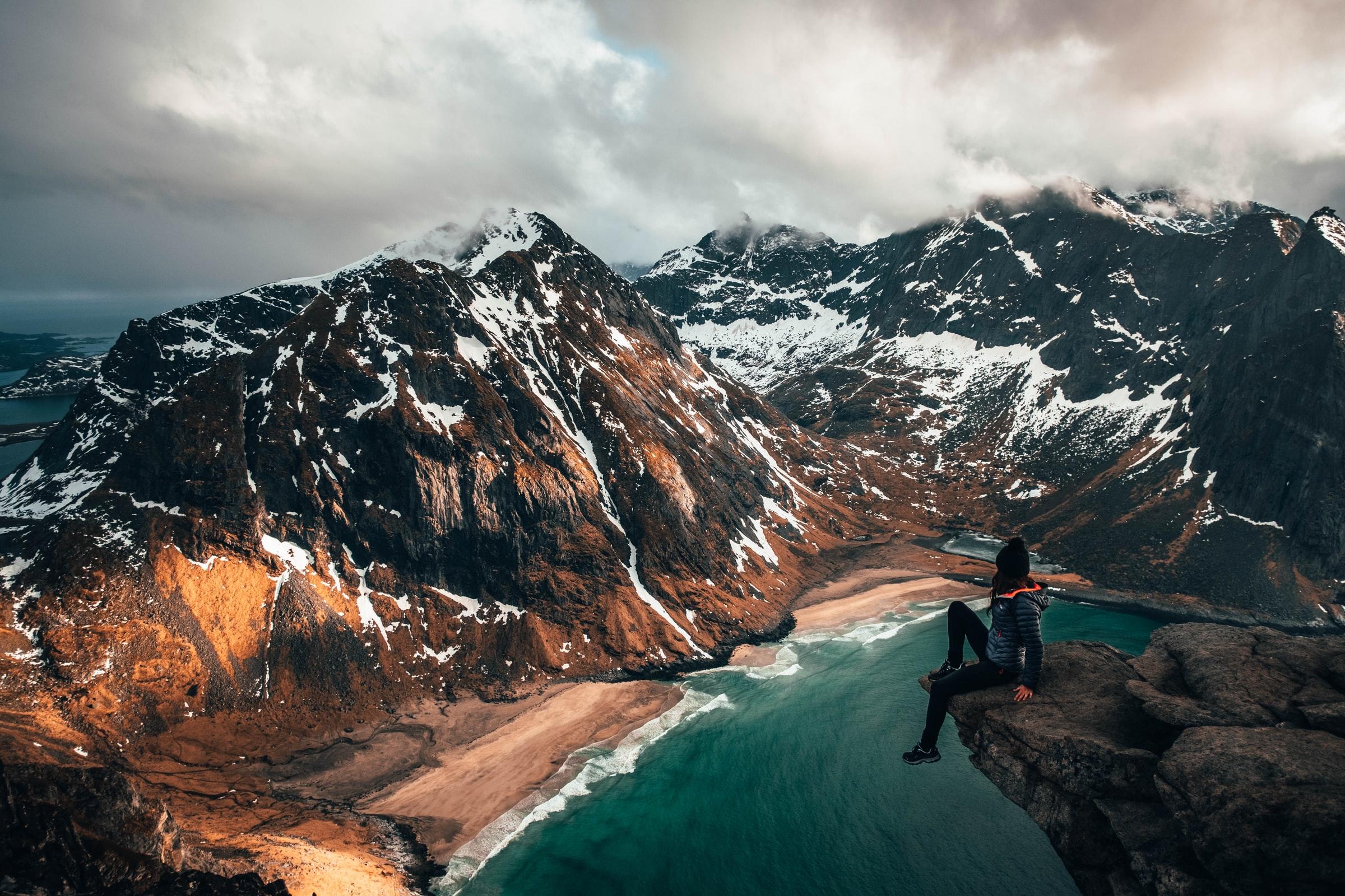 Uitzichtpunt Lofoten, Noorwegen