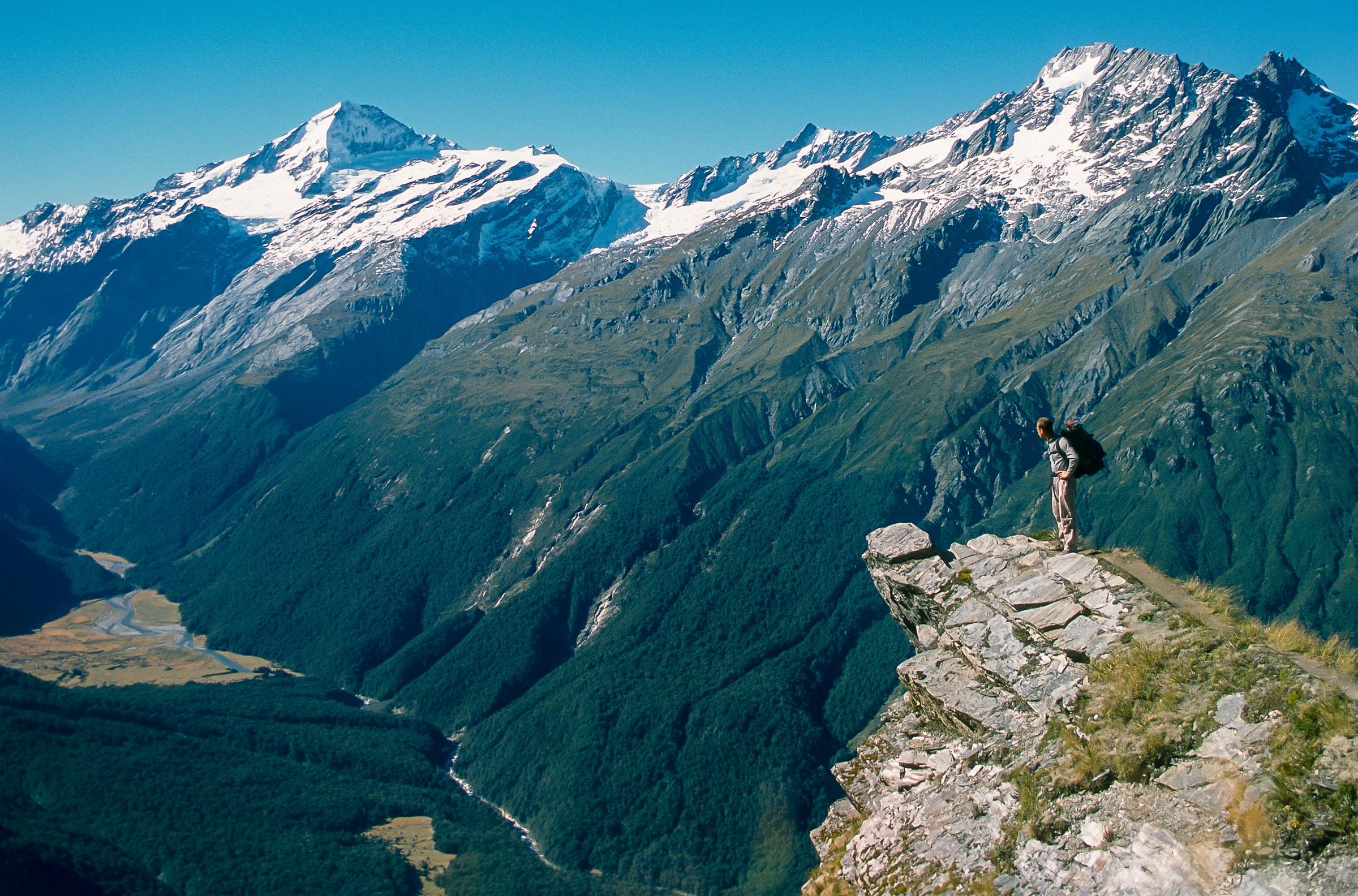 Mount Aspiring Nationaal Park - Nieuw Zeeland