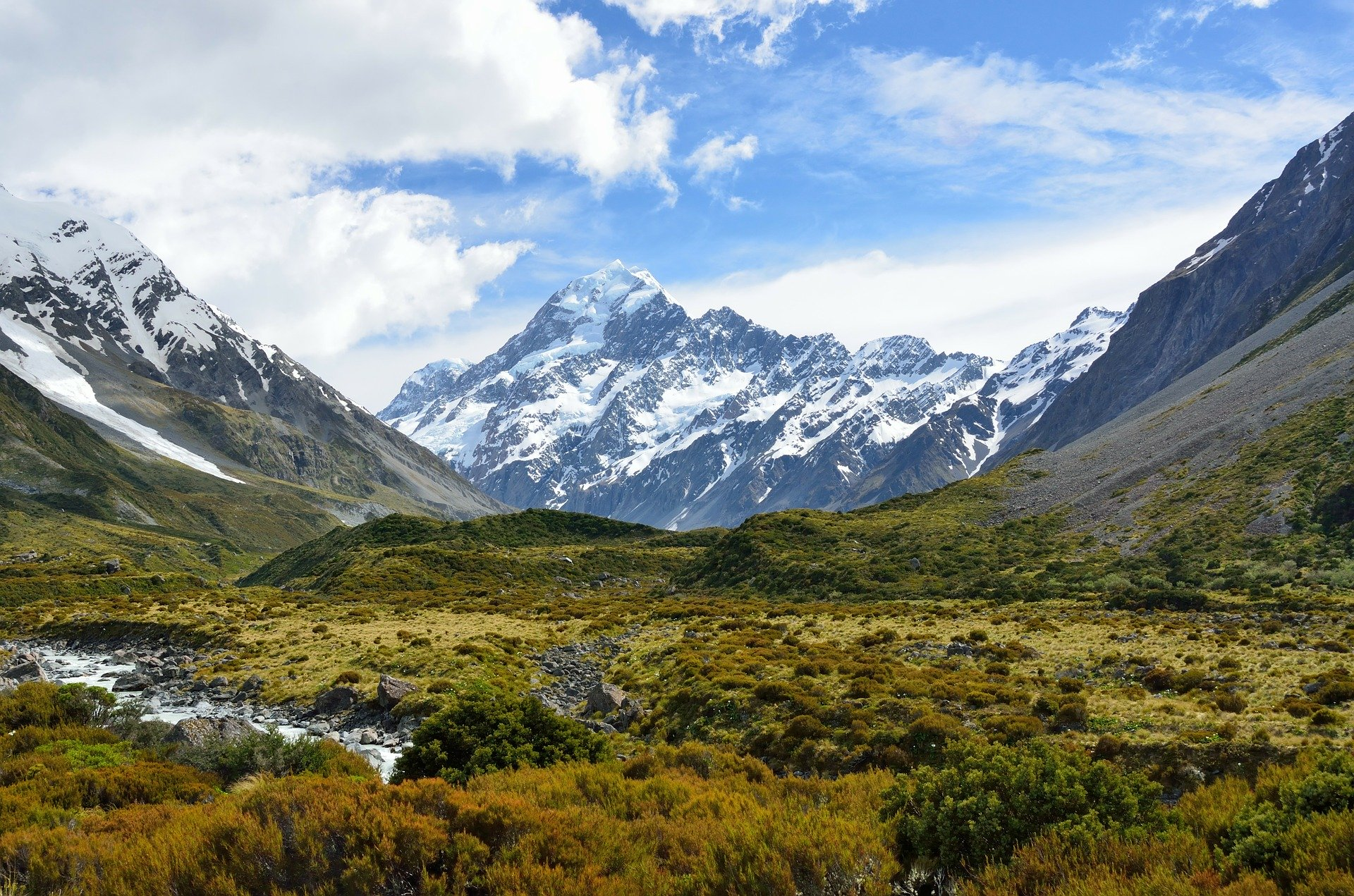 Aoraki / Mount Cook Nationaal Park
