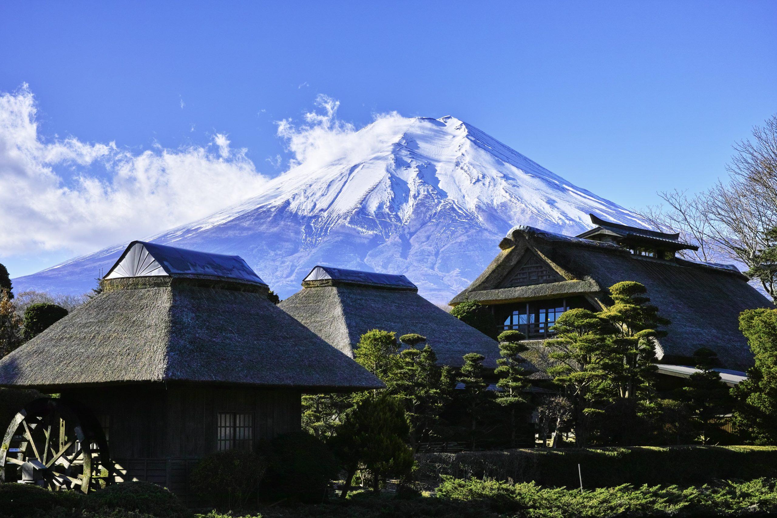 Mount Fuji, Rondreis Japan