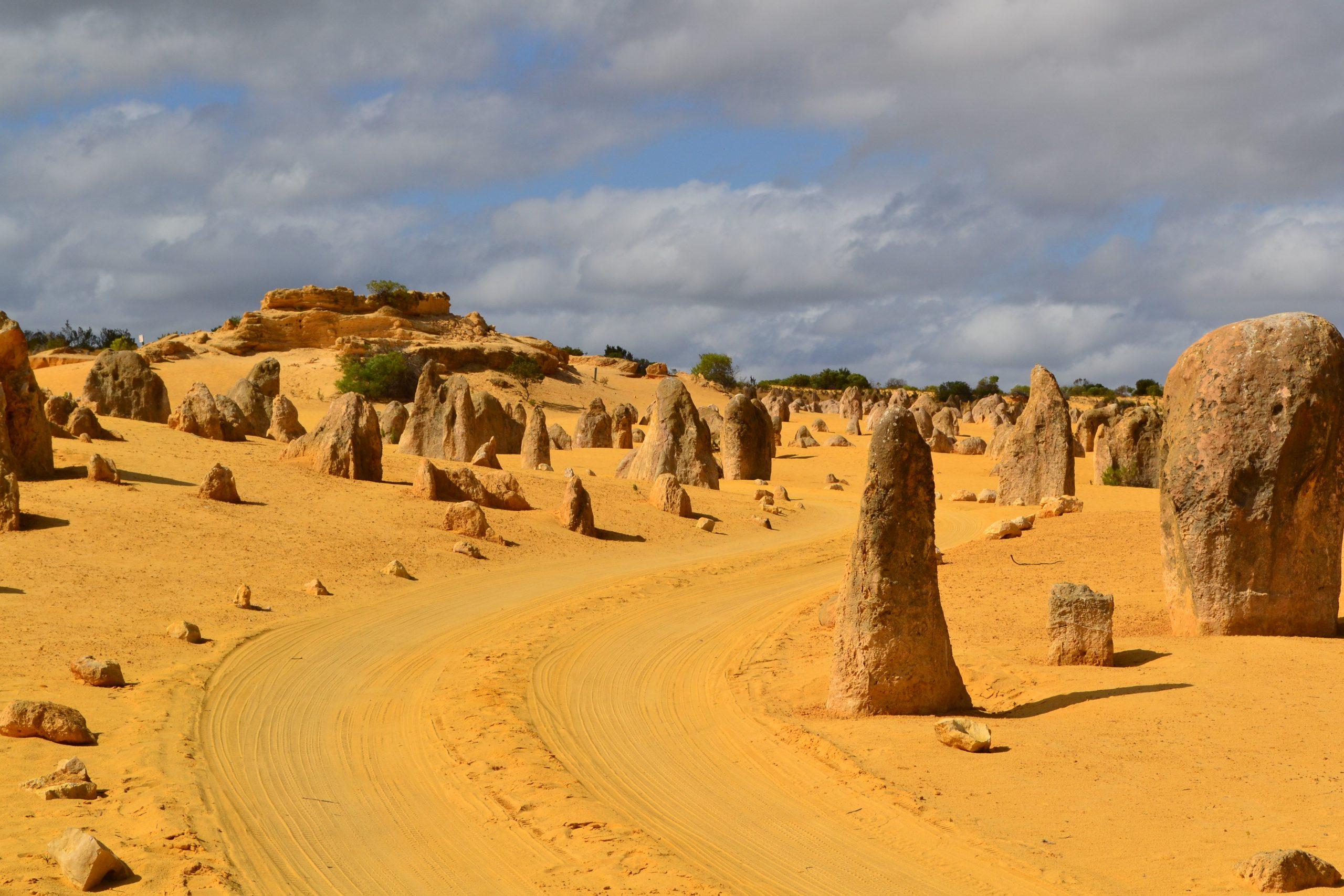 De Pinnacles in Nambung National Park, West-Australië