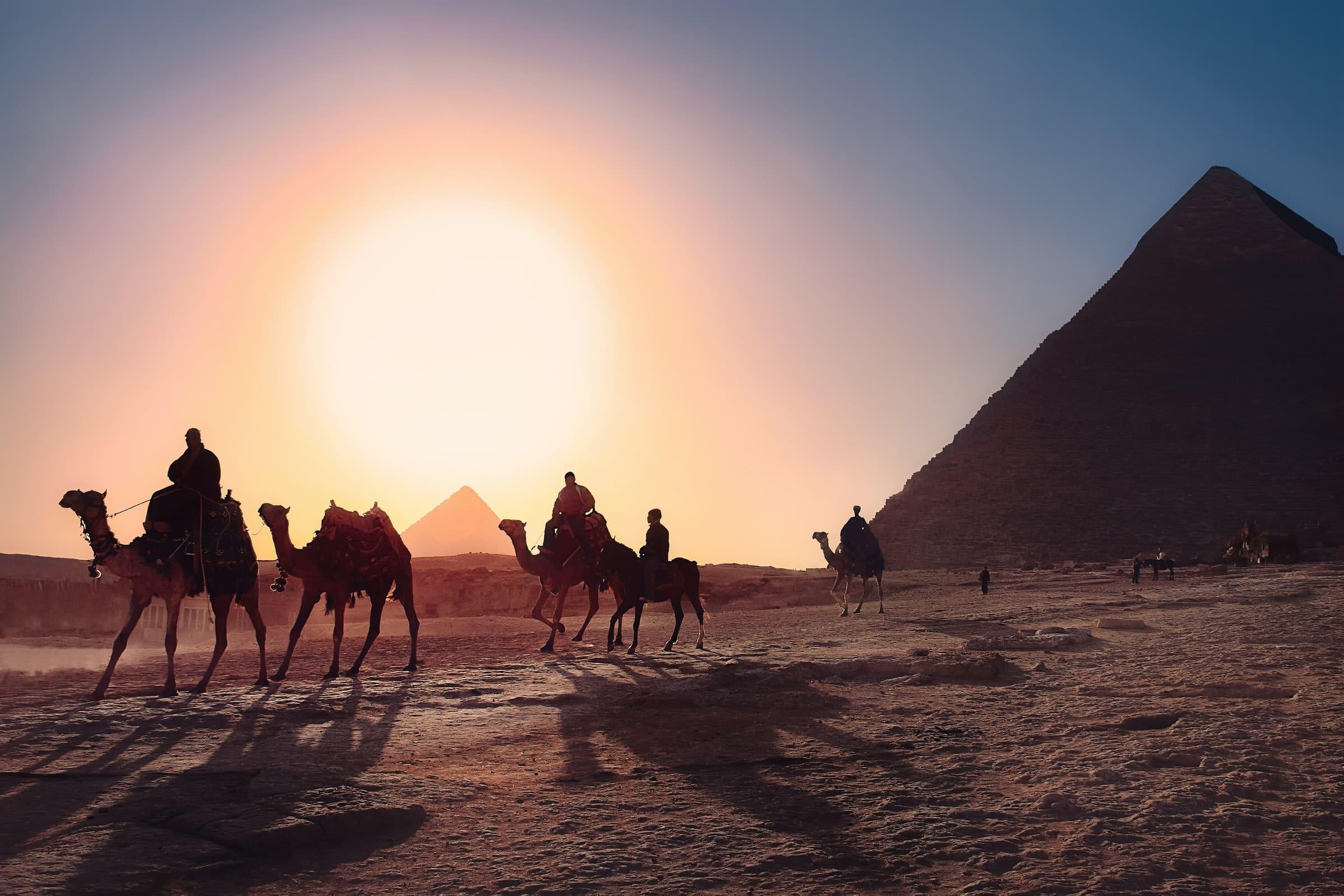Piramides van Gizeh, must sees egypte