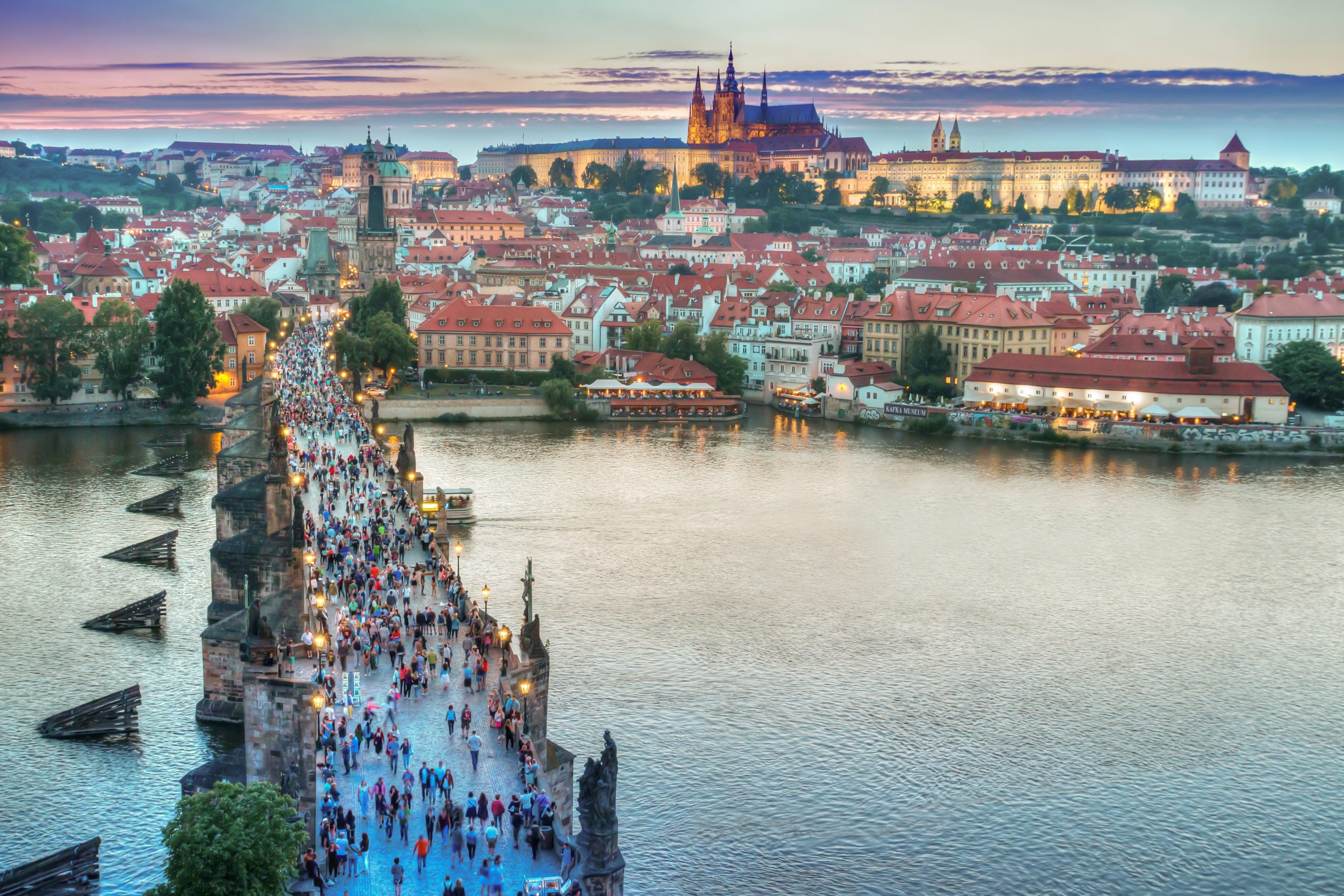 Praag, Stedentrips in Europa