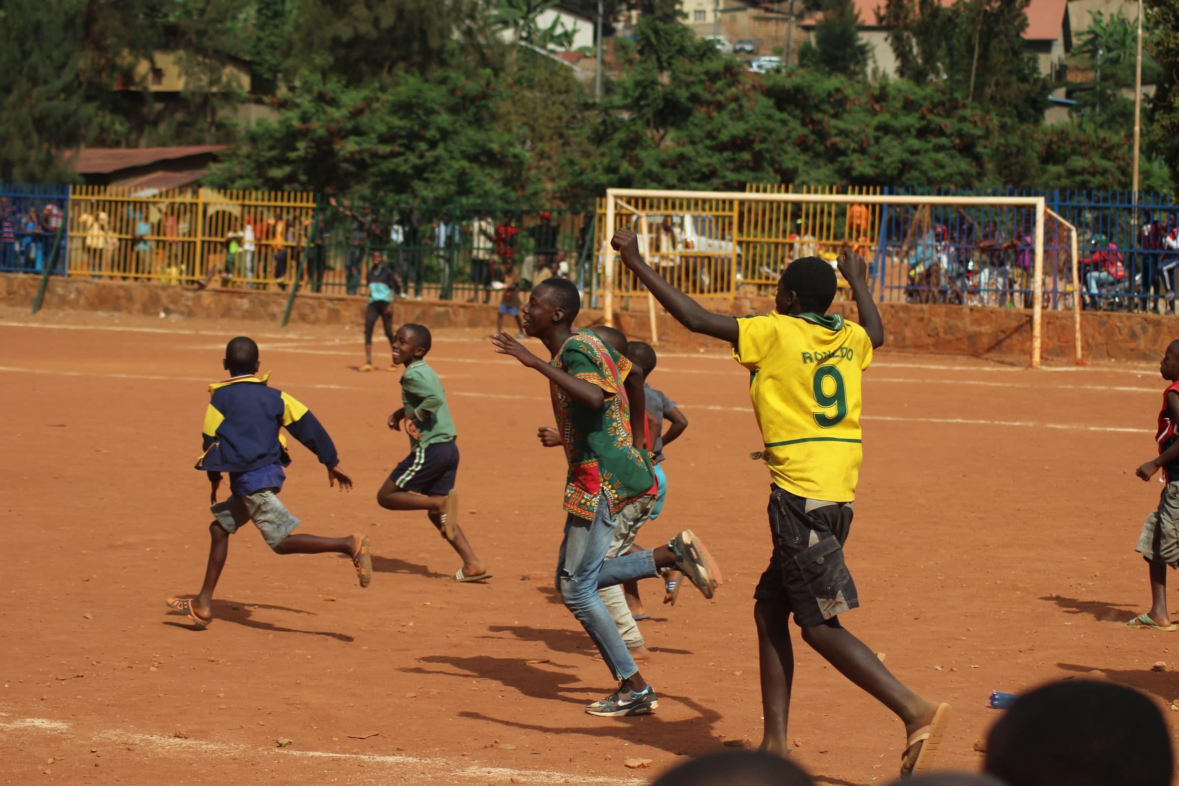 Rwanda, een dicht bevolkt land in Afrika