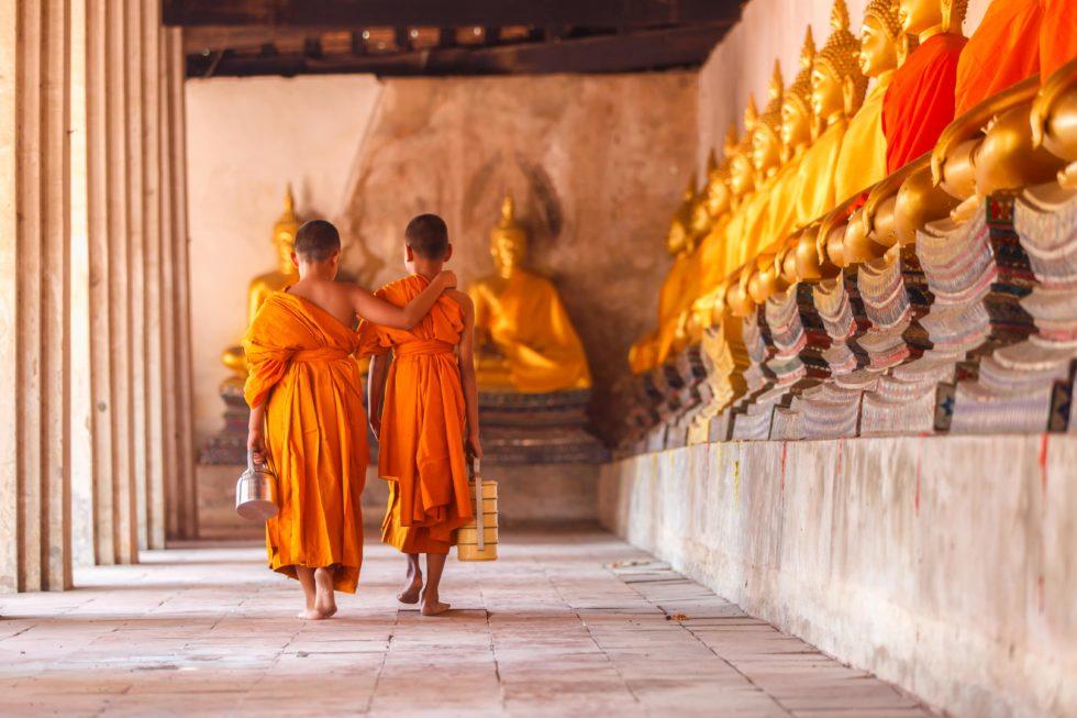 Tibet, Monniken (kinderen) in opleiding