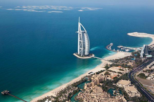 Burj Al Arab, één van de must sees in Dubai