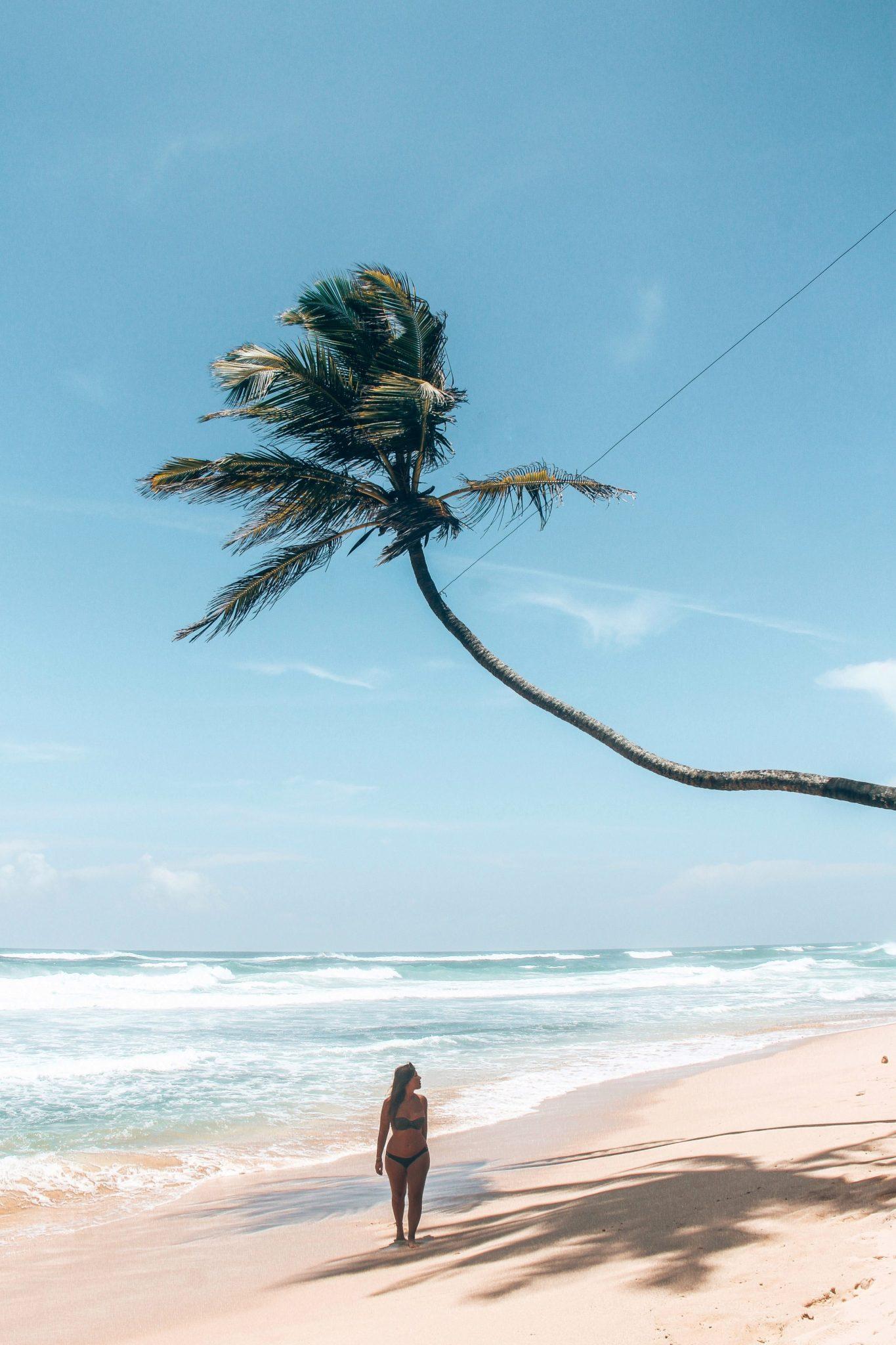Witte Stranden in Sri Lanka