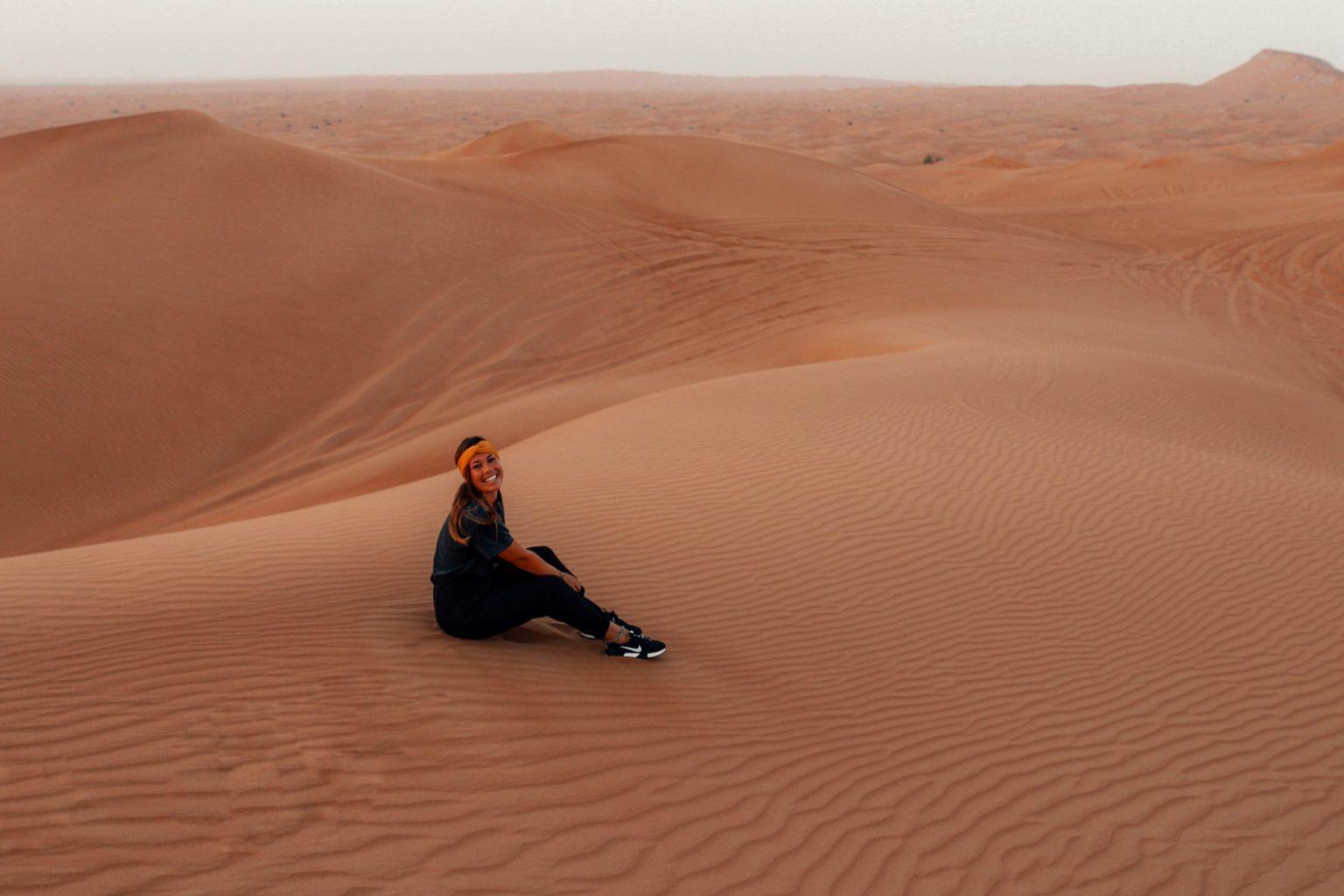 De omliggende woestijn, één van de must sees in Dubai