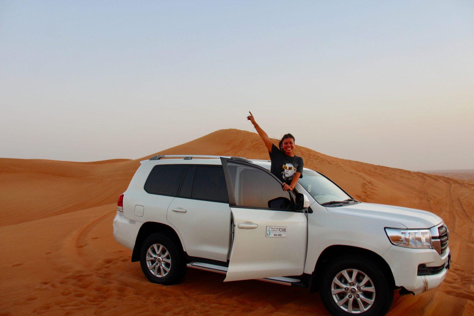 De auto waarmee je door de woestijn zult rijden