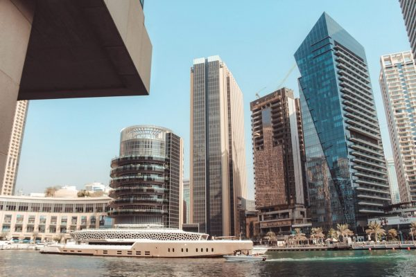 Dubai Marina, één van de must sees in Dubai