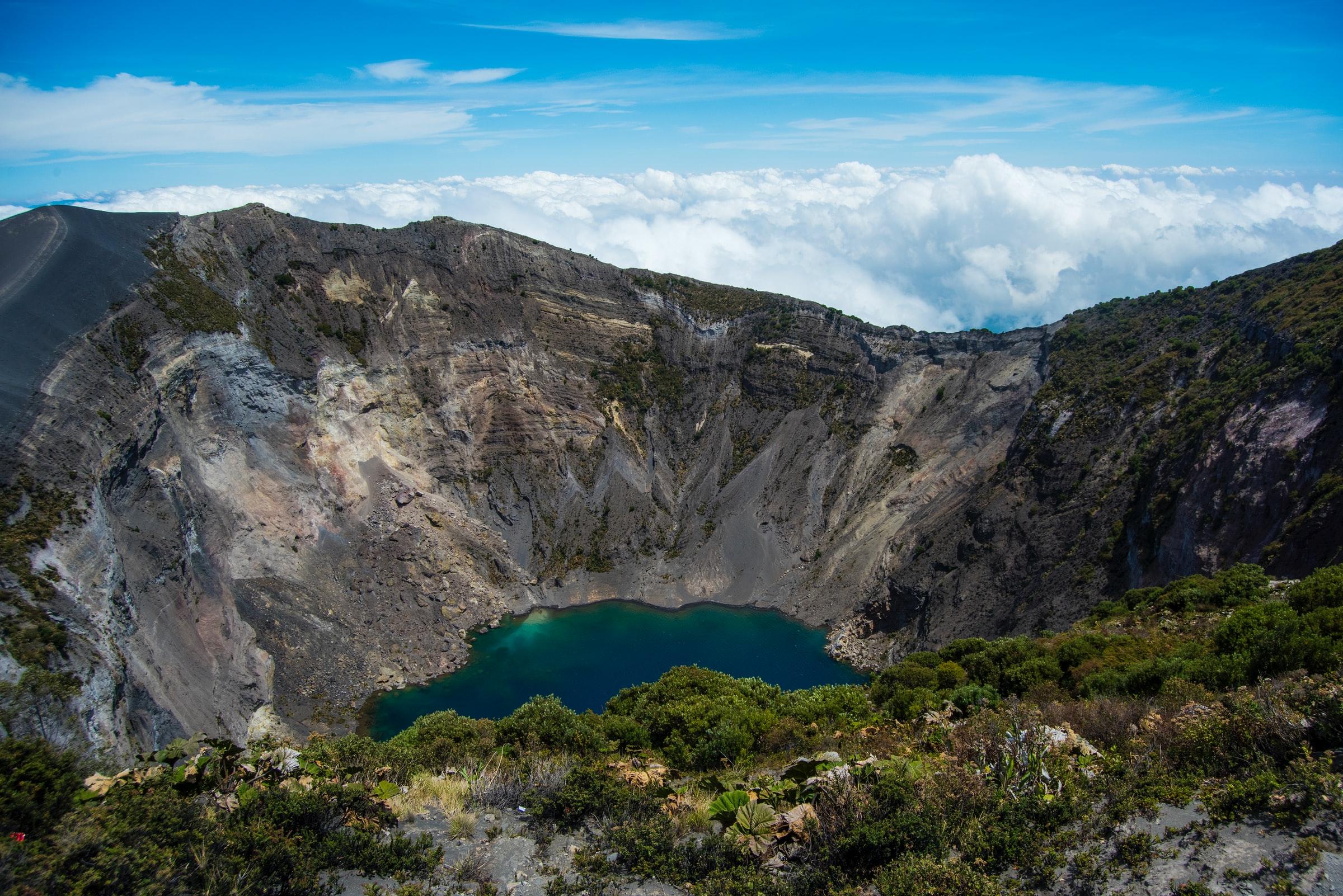 Irazu Volcano Nationaal Park