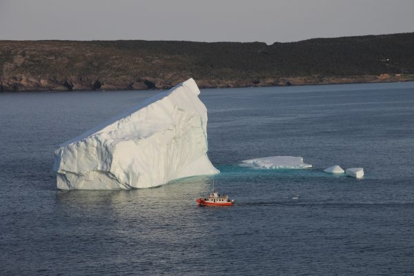 Newfoundland, Ijsberg