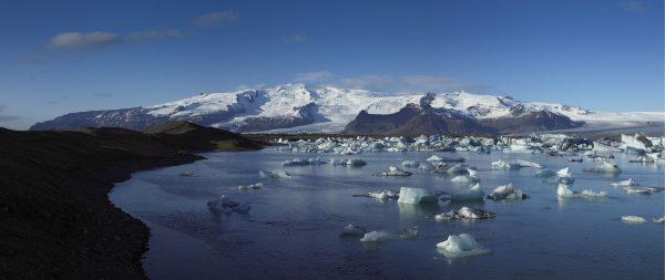 Oraefajokull, vulkanen in IJsland