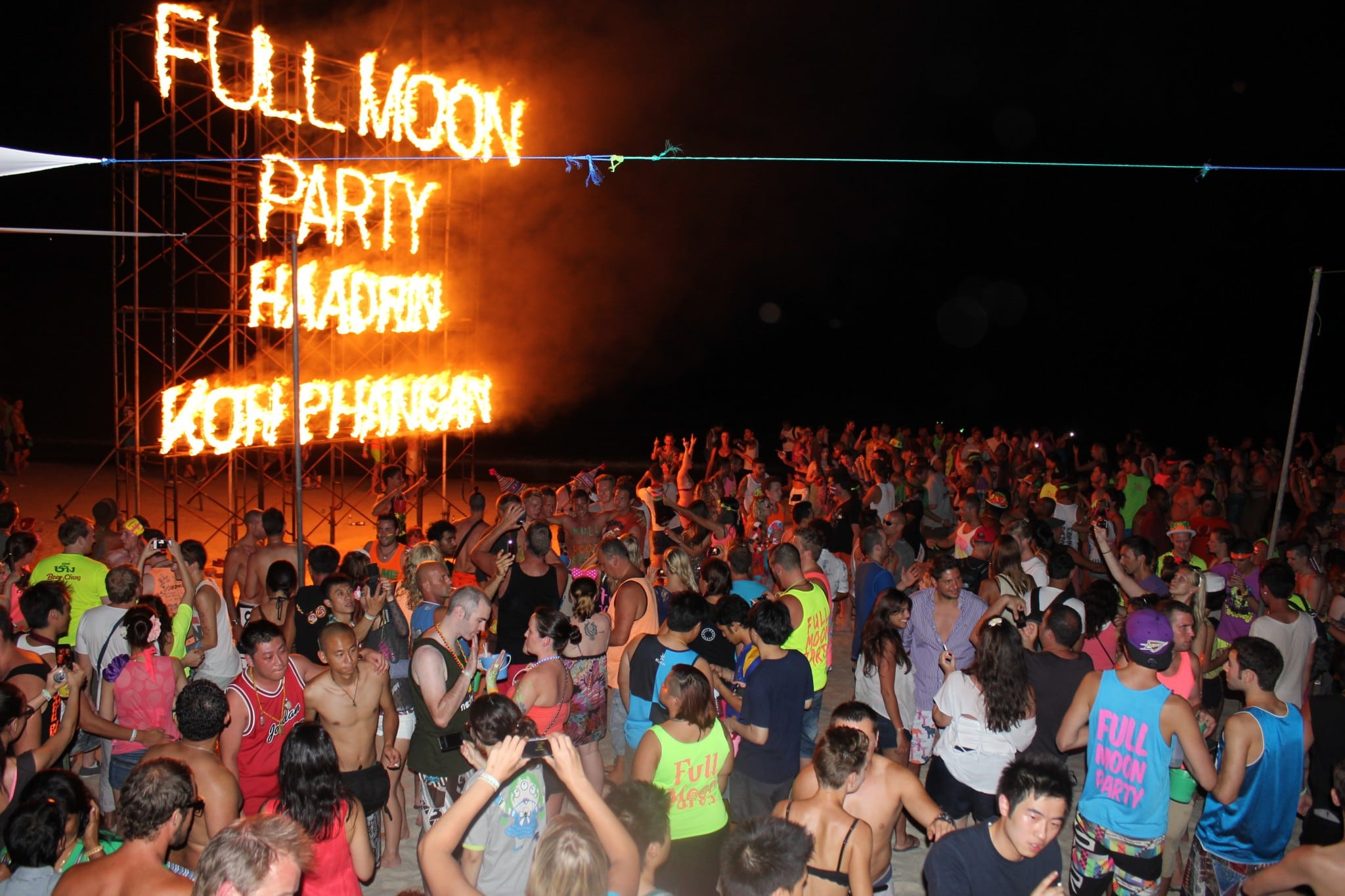 Koh Phangan, Full Moon Party