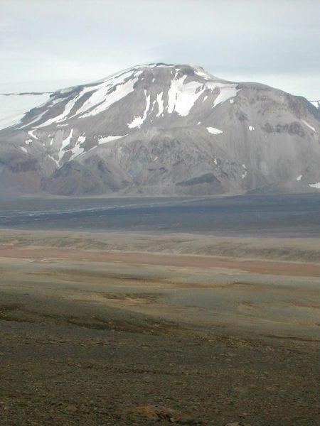 Prestahnukur, vulkanen in IJsland