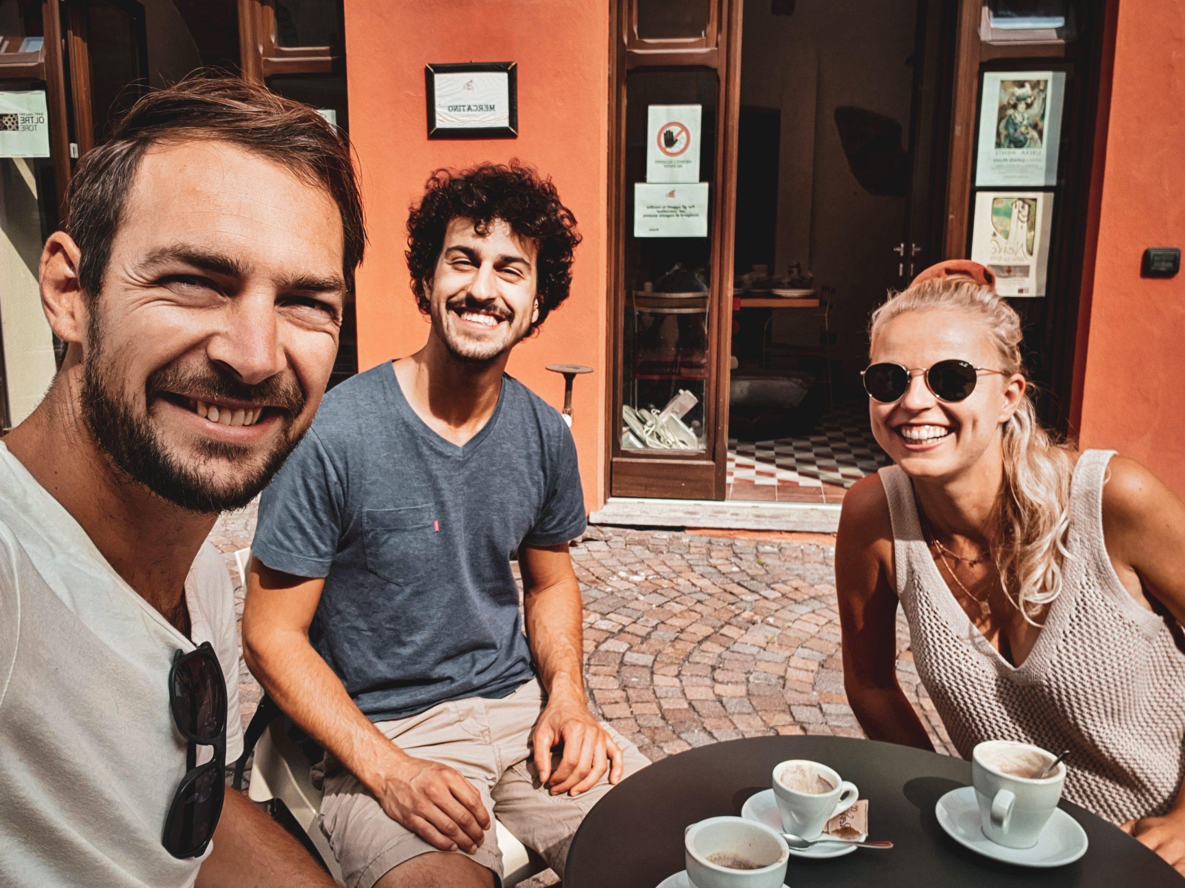 Reisstel.nl | Italiaanse gastvrijheid | vriend Matteo