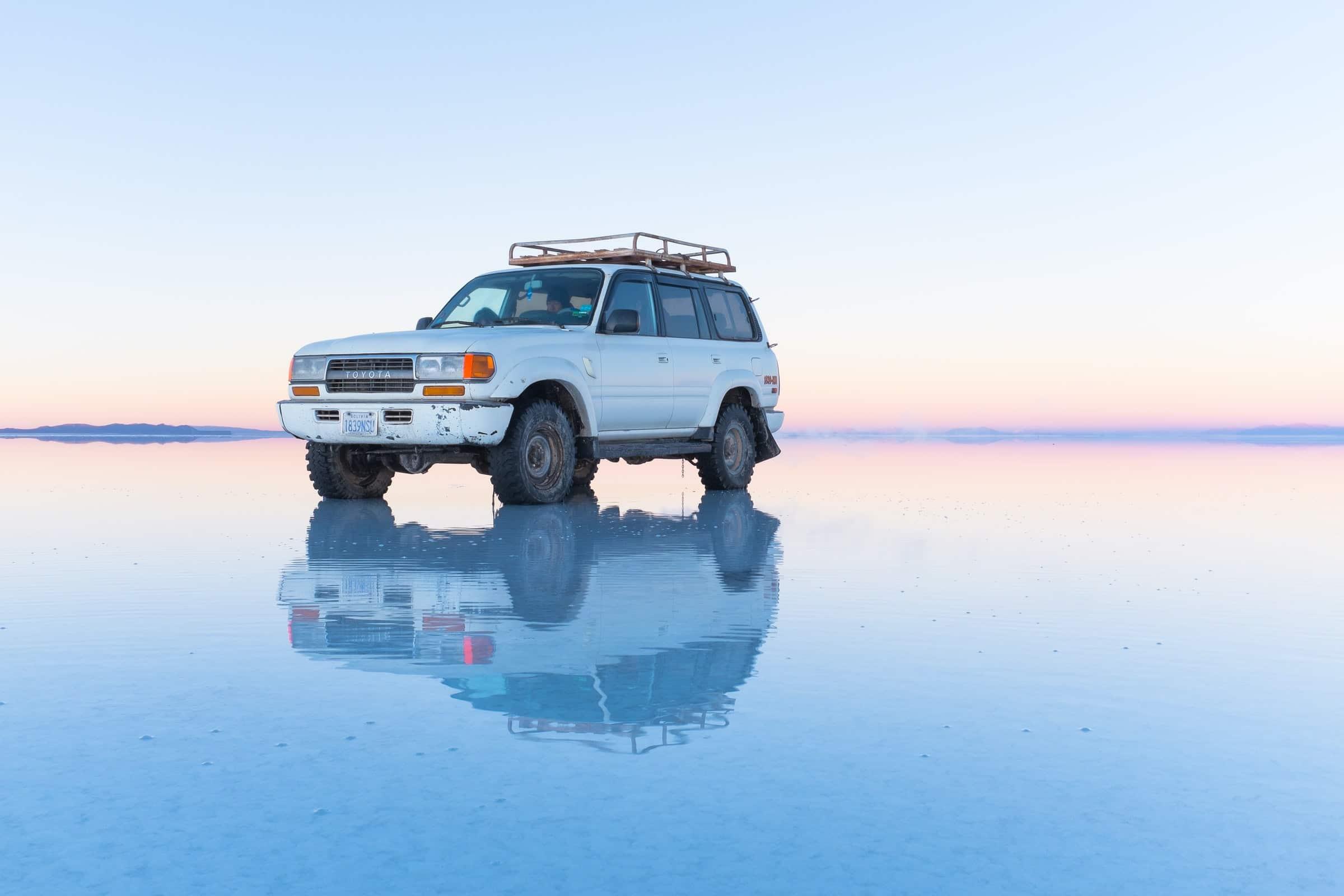 Must sees in Zuid-Amerika: Salar de Uyuni (zoutvlaktes), Bolivia