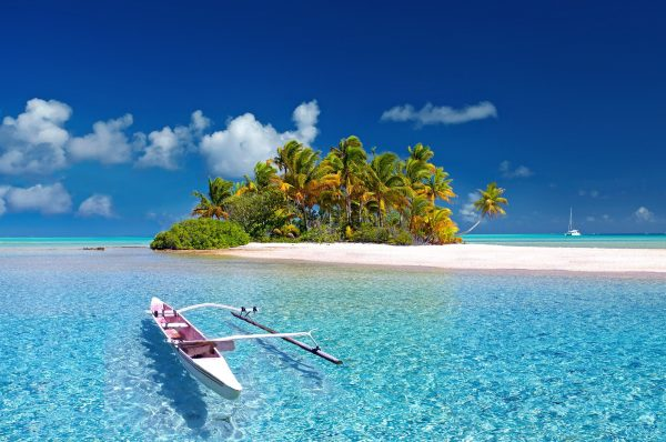 Sparen voor een wereldreis begint bij dromen: Bijvoorbeeld en strand in Polynesië