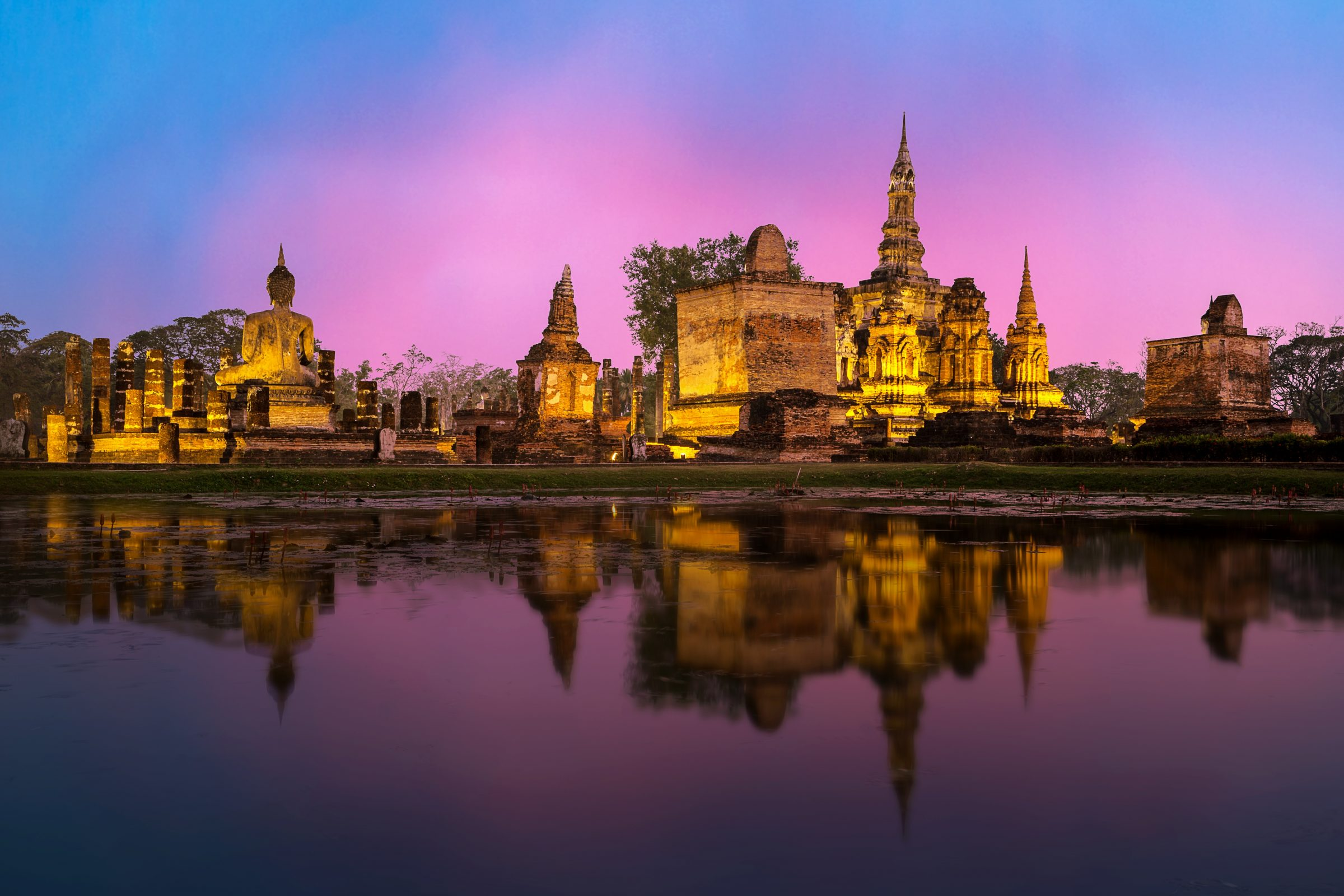 Sukhothai, must sees in Thailand