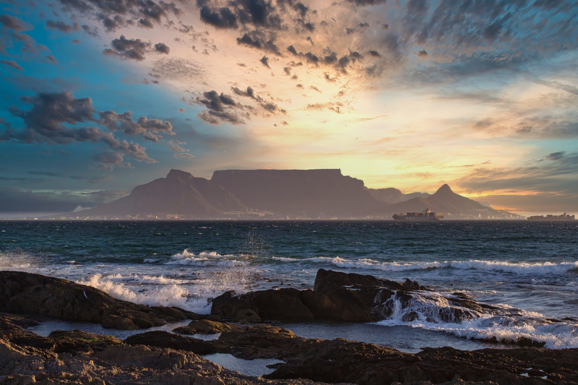 Table Mountain National Park, Kaapstad, Zuid-Afrika