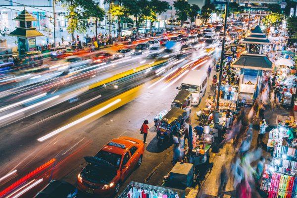 Positief blijven tijdens je wereldreis - Bangkok