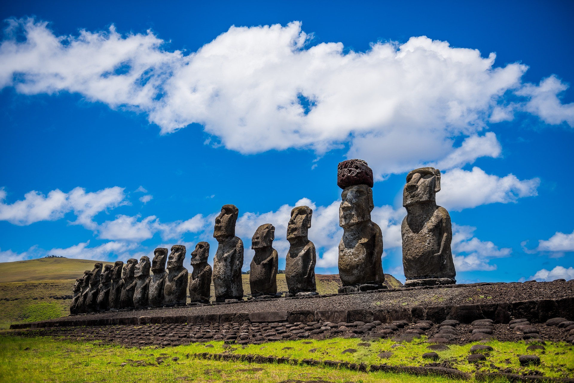 Moai - Paaseiland, Chili