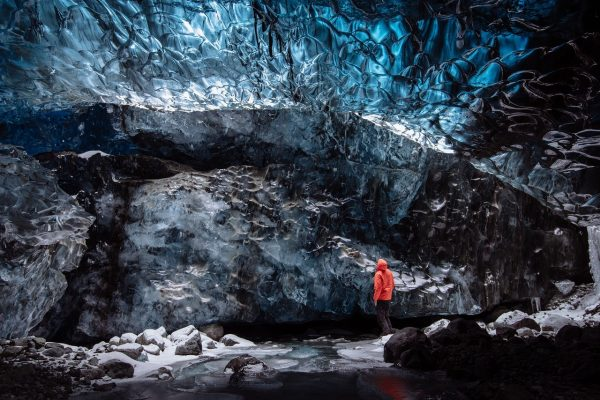 IJsland, Cold Cave Glacier