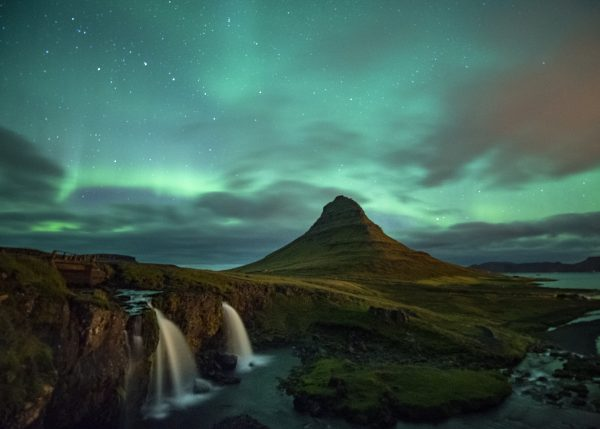 Noorderlicht spotten in IJsland